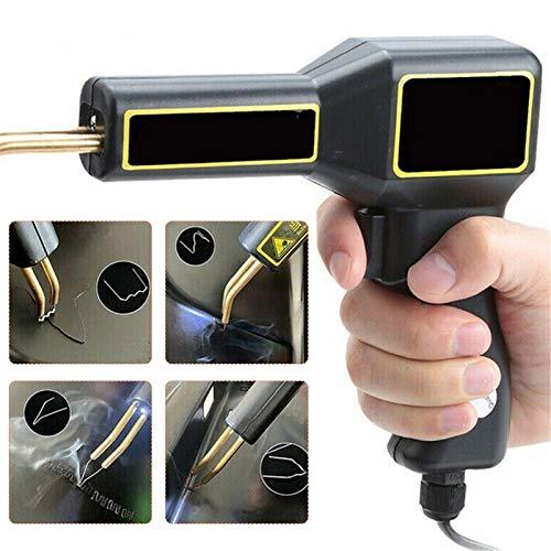 TELAM 50W Kit di Riparazione per Saldatura, Pistola Saldatrice con 200pcs Accessori per Macchina Graffatrice PVC Riparazion, plastica Riparazione Saldatura Kit per Auto paraurti/Auto ricambi