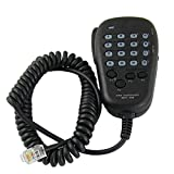 eoocvt 6-pin 22' Coil Cord Dtmf Mic Microphone for for Yaesu MH-48A6J FT-7800R FT-8800R FT-8900R FT-7900R FT-7100M1