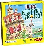 Haba 303631 - Burg Kletterfrosch | Spannendes Memo- und Geschicklichkeitsspiel mit 3D-Aufbau und Kletterfrosch zum Ziehen aus Holz | Spiel ab 5 Jahren - Markus Nikisch