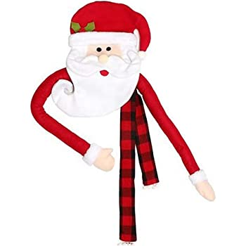 Esplic Acquista Ornamenti Natalizi Ciondolo Appeso Albero di Natale con Copricapo da Babbo Natale Nuova Decorazione Natalizia