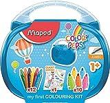 Maped Color'Peps Malette de Coloriage pour Bébé et Enfant dès 1 an – Kit Premier...