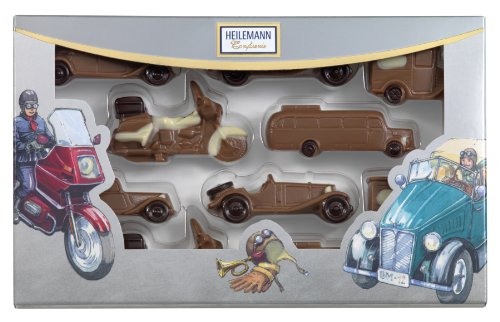 Heilemann Schoko-Oldtimer Edelvollmilch, 1er Pack (1 x 100 g)