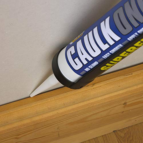 Caulk Once - Premium quality acrylic caulk - 295ml - White