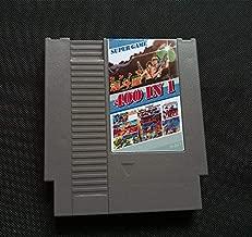 400 In 1 DIY 72 pins 8 bit Game for NES with game Contra 7 NINJA GAIDEM DOUBLE DRAGON NINJA TURTLES 3 90 TANK SNOW BROS alien 3 , Games for NES , Game Cartridge 8 Bit SNES