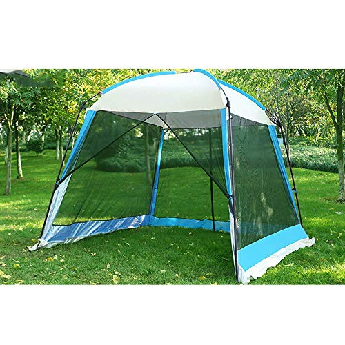 3X3m Outdoor Portable Gazebo with Mesh Sides, Waterproof Tent Garden Awning Marquee Beach Sun Shade Baby Summer Camping Shelter,M