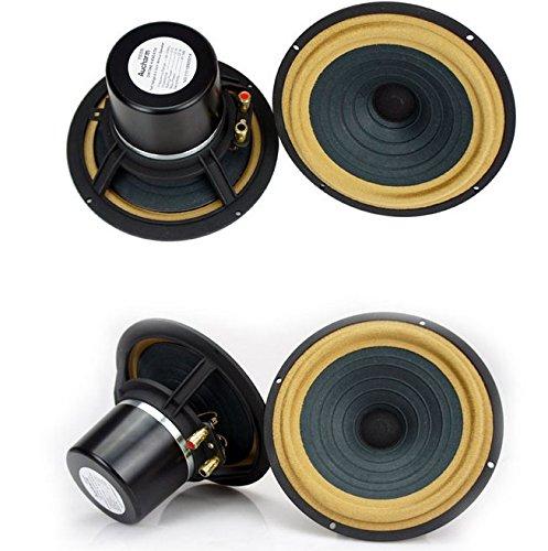 GOWE Alnico-Magnet für Lautsprecher, 16,5 cm (6 1/2 Zoll), gemischte Papierkegel, 8 Ohm, 25 W