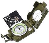 Best Lensatic Compasses - Lensatic Military Compass for Hiking - Tritium Compass Review