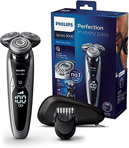 Philips Serie 9000 S9711/41 - Máquina de afeitar con cabezales de 8...