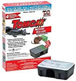 Tomcat Mouse Killer - 4 Child and Dog Resistant Bait Stations Containing 28