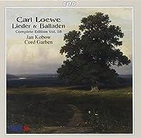 レーヴェ:歌曲とバラード全集 第18集