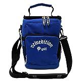 【NewEdition GOLF®】ゴルフ ラウンドポーチ 保冷バッグ ソフトクーラーボックス NEG-680 (ブルー)