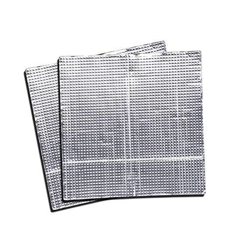 WJMY 3D-Drucker Heizbett Isolierung 220x220 mm Plattform Heißbett Isolierung Bett Wärmeschutzmatte Selbstklebend Matte für z.B. Anycubic i3 Mega Creality Ender 3 Anet A8 CR-10S usw. (2 Stück)