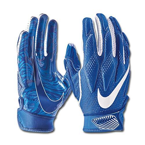 Nike Youth Superbad 4.5 Football Gloves (Royal/Royal/White, Medium)