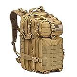 Military Tactical Assault PackバックパックArmy MOLLE防水バグアウトバッグバックパックスモールリュックサックアウトドアハイキングキャンプトレッキングハンティングタン