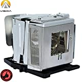 AN-D350LP Replacement Projector Lamp with Housing for Sharp XR-50S XR-50X XR-55X PG-D2500X PG-D2710X PG-D3010X PG-D3510X PG-D2510X Projectors by Visdia