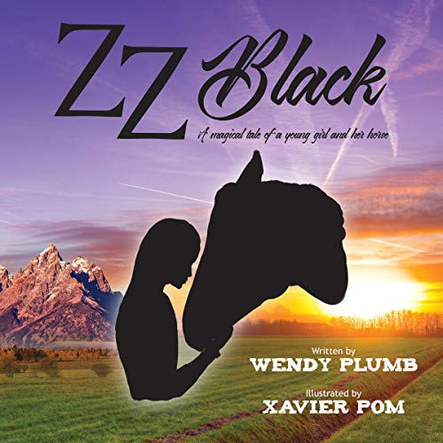 ZZ Black audiobook cover art