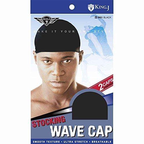 (3 Pack) King J –Stocking Wave Cap #061
