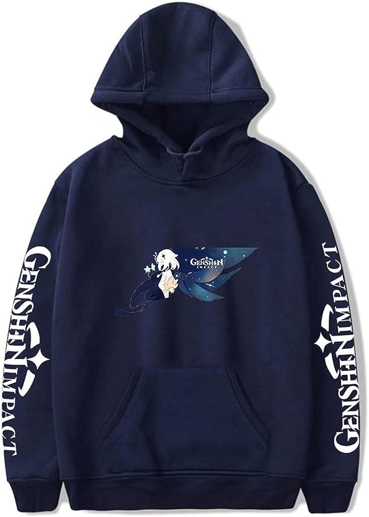 Genshin Impact Hoodie Sweatshirts Pullover Unisex Fashion Game Fall Winter Tracksuit