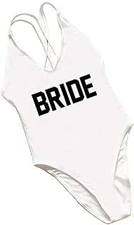 shifeier Birde Women's Strappy Swimwear One Piece Bikini Swimsuits Blackless Monokinis