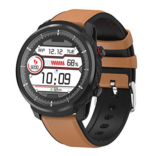 LLTG S10 Smart Watch, Menor y Mujer Ritmo cardíaco Sleep Monitor SmartWatch Fitness Tracker IP67 Smartwatch Impermeable para iOS Android,C