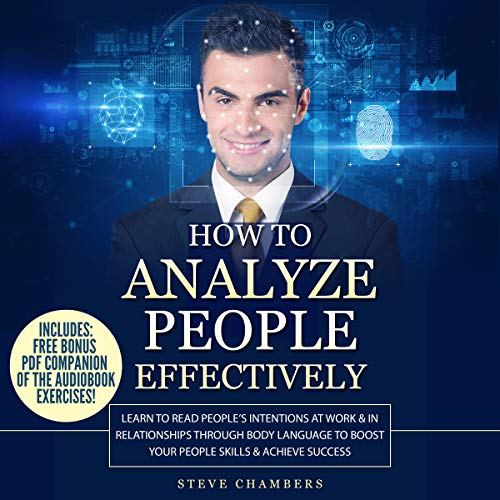 How to Analyze People Effectively audiobook cover art
