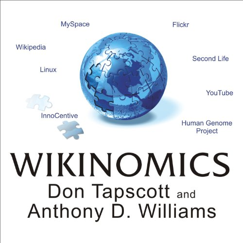 Wikinomics audiobook cover art