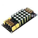 Fafeicy Módulo de filtración de rectificador, 1200W 100V 12A amplificador de filtro de rectificador de doble potencia, con cuatro puentes de rectificador