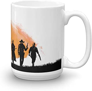 red dead redemption 2 coffee mug