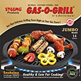 Smokeless indoor and outdoor grill Great for home, camping or picnics Colour: Black