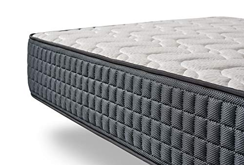 COSMOS | Activated Carbón | Almohada OceanFibre Fresh 60x60 Cm | Pack x2 Almohadas | Relleno Fibras Huecas 100% Recicladas | Estructura Transpirable 3D | Sensación Mullida y Confortable | Lavable
