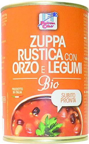 LA FINESTRA SUL CIELO Zuppa Rustica con Orzo e Legumi Bio - 400 g