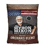 Myron Mixon 2-Pack Bundle Orchard Blend Flavored Premium Wood Pellets, Wood Pellets for Smoker, Wood Smoker Pellets, BBQ Wood Pellets for Smoking and Grilling