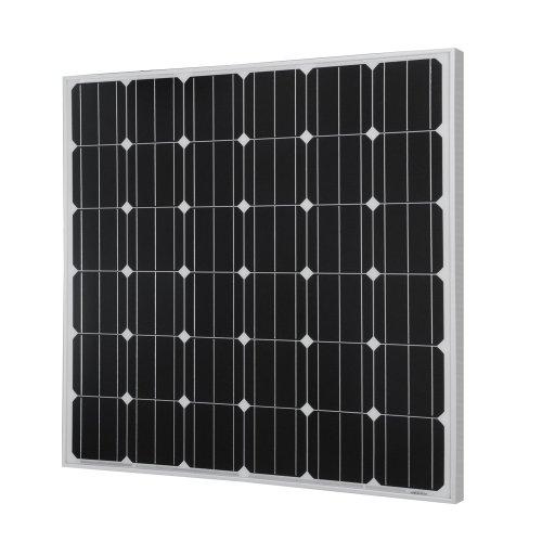 RENOGY 150W 12 Volt Solarmodul Monokristallin Solarpanel mit MC4 Verbindungsstück Aufladung für RV, Boots, Kabinen, Zelt, Auto (Kompatibilität mit 12V und unter Geräten)