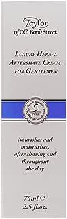 Taylor of Old Bond Street Luxury Herbal Aftershave Cream for Gentleman