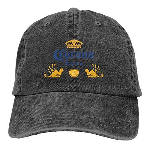 Tengyuntong CoroExtra Beer Classic Leisure Ajustable Caza Actividades de Pesca Gorra de bisbol Sombrero de pap de Mezclilla