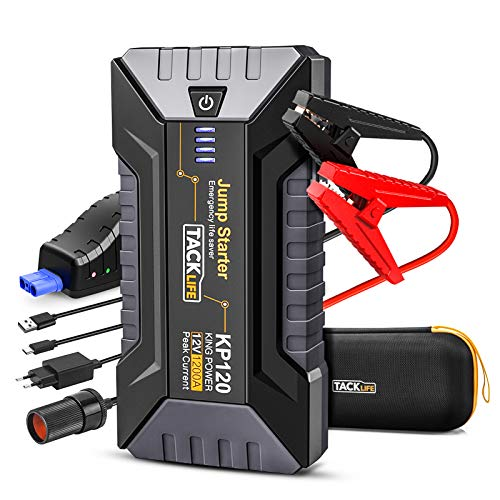 TACKLIFE KP120 : booster batterie auto/moto - 1200A 12800mAh