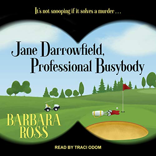 Jane Darrowfield, Professional Busybody audiobook cover art