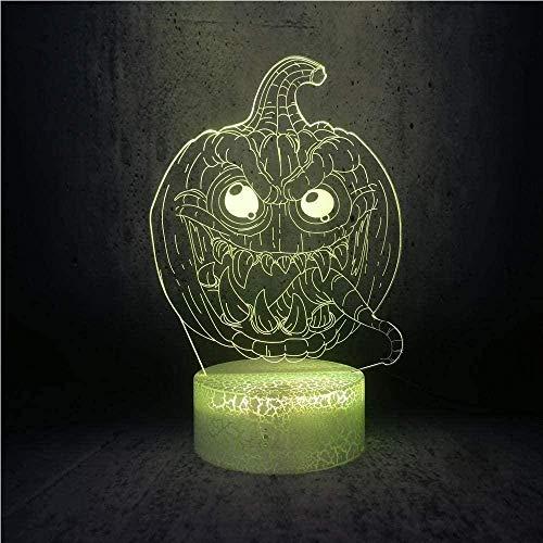 Lámpara 3D ilusión de lámpara LED, lámpara de noche con rollo Frozen Elsa, crema gláctea, belleza niña, bebé, historia, sueño, lámpara para la decoración de la habitación para niños N26-N6
