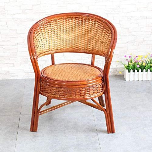 Stoel LKU Stoel driedelige balkontafel en stoel kleine salontafel combinatie enkele vrijetijdsstoel rotan, BoomClap1