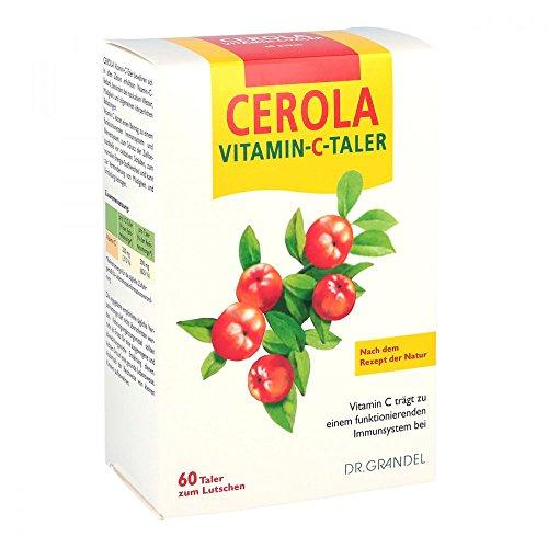 Dr. Grandel Cerola Vitamin-C-Taler zum Lutschen, 60 St. Tabletten