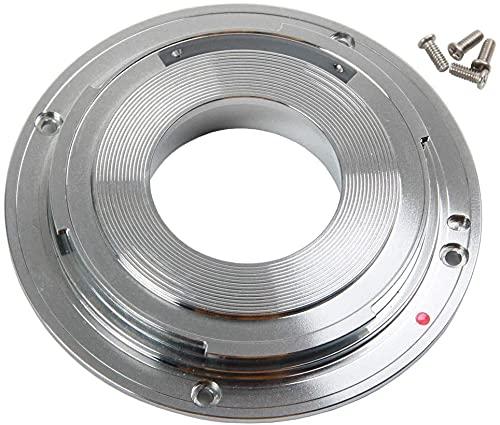 Adaptador de montura de montura metálica EF-S a EF de repuesto para Canon 10-18 mm 1: 4,5-5,6 IS objetivo réflex digital
