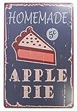American Apple Pie Blechschild Bar Pub Garage Diner Cafe