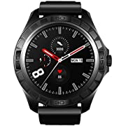 WHENOW Fitness Tracker Smart Watch for Android & iOS Phones, Smartwatch with Heart Rate, Blood Pressure Monitor & Sleep Tracking, Long Lasting Battery & IP68 Swimming Waterproof Watch for Men Women