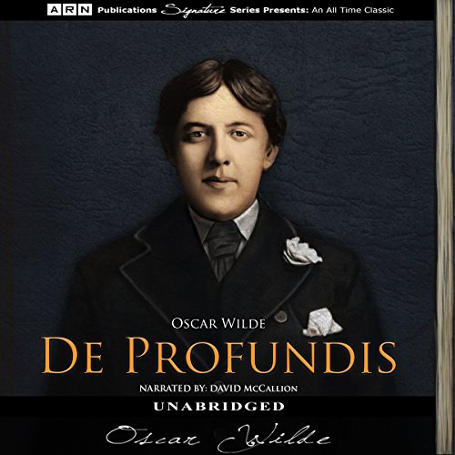 De Profundis audiobook cover art