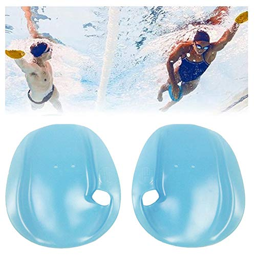 Ladovin Contour Swim Training Handpaddel Schwimmen Übungshandschuhe für Schwimmer Anfänger, M