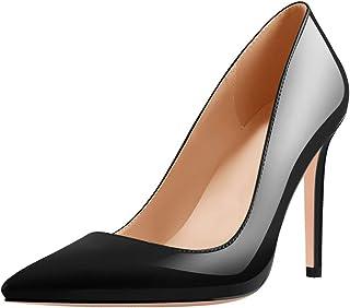 Richealnana Women's 4inch Pointed Toe Stiletto Heel Pumps