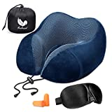 Relaxd Neck Pillow for Travelling – Memory Foam Travel Pillow – Scientifically Proven