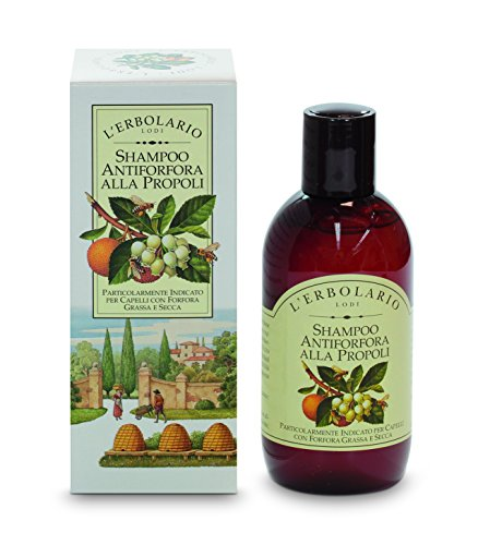 L'Erbolario Anti-Schuppen Shampoo mit Propolis, 1er Pack (1 x 200 ml)