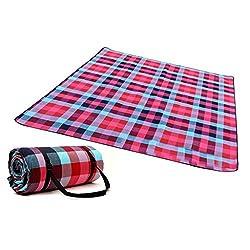 DAYU Picknickdecke Isolierte Wasserdicht Feuchtigkeitsbeständig Reinigung in der Waschmaschine Campingdecken Stranddecke 150 x 200 cm/ 200 x 200