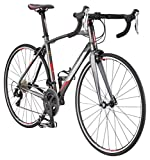 Schwinn Fastback 1 Performance Road Bike for Intermediate to Advanced Riders, Featuring 54cm/Large Aluminum Frame, Carbon Fiber Fork, Shimano 105 22-Speed Drivetrain, and 700c Wheels, Grey